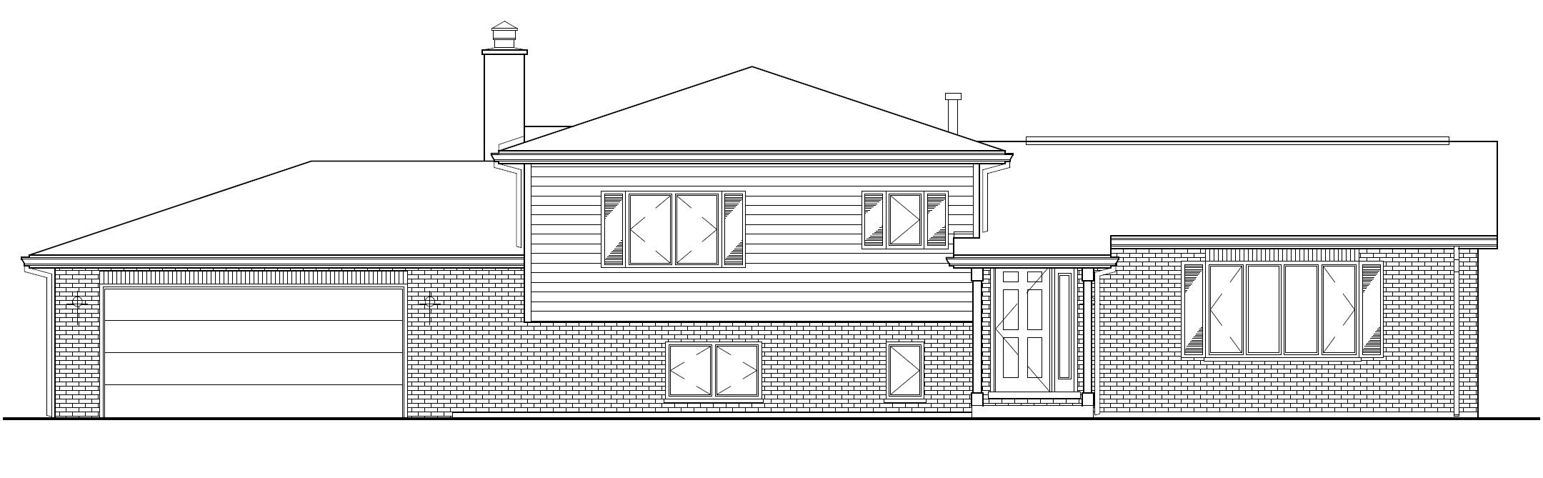 adair architects inc split level home plans